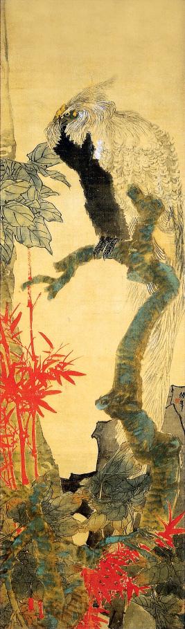 艺道首页 艺术鉴赏 西画· 风景画 朱竹凤凰图  图片中的放大镜,支持